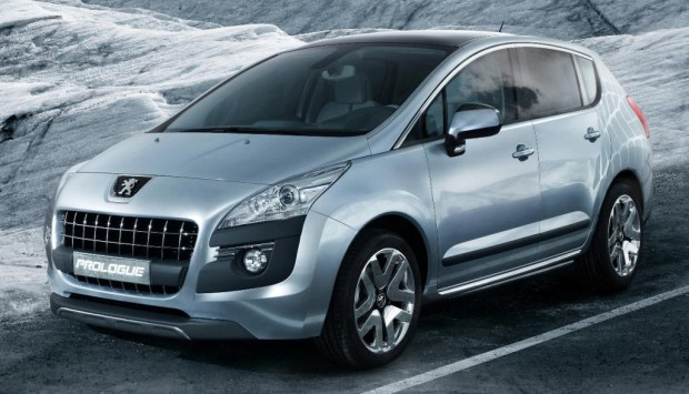 Peugeot stellt Hybrid-Konzeptauto Prologue vor