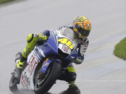 Qualifying - Rossi holt erste Indy-Pole: Fabelhafter Valentino Rossi