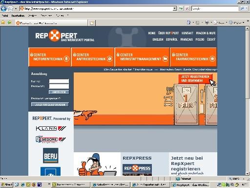 RepXpert hilft Werkstätten