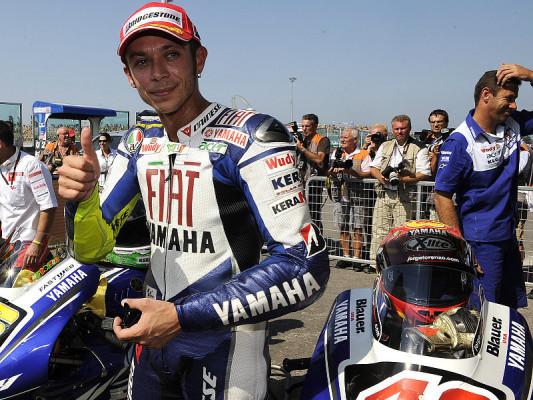 Rossi holt den Helden ein: Er fährt nicht für Platz zwei