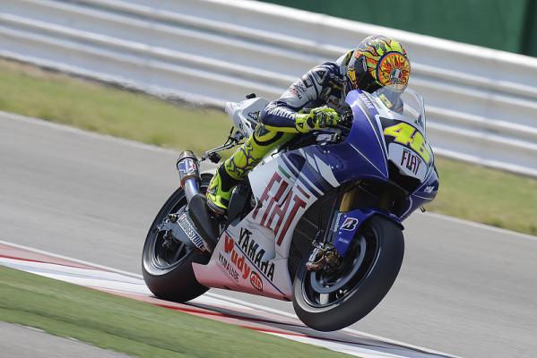 Rossi ist sich noch nicht sicher: Noch ein weiter Weg