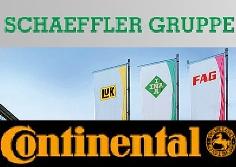 Schaeffler wurden insgesamt 82,41 Prozent der Continental-Aktien angeboten