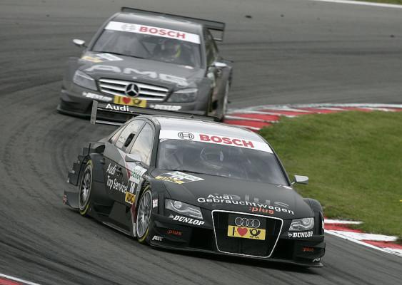 Scheider mit erster spanischer Bestzeit: Drei Audi an der Spitze