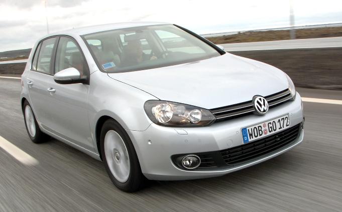 Umweltprädikat für neuen Volkswagen Golf
