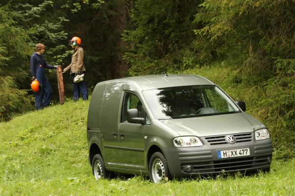 Volkswagen Caddy mit Allradantrieb feiert Premiere