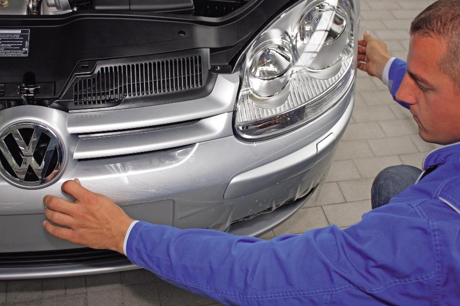 Volkswagen für Fahrzeug-EKG und Lackschutzfolie ausgezeichnet