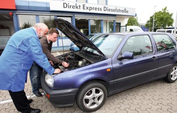 Volkswagen testet Schnellreparaturservice