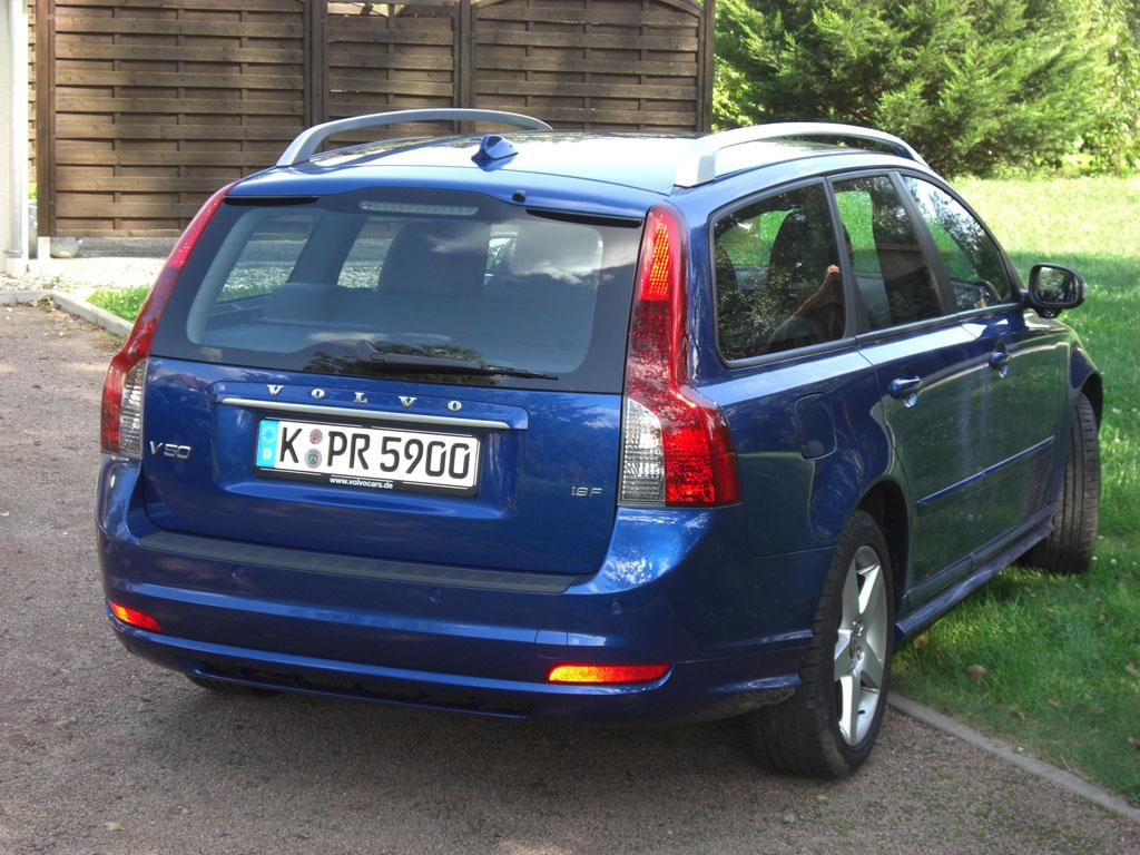 Volvo V50 R-Design: DTM-Feeling im Sportkombi der Mittelklasse