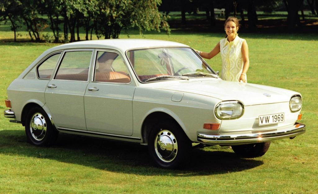 Vor 40 Jahren: Pressevorstellung des Volkswagen 411