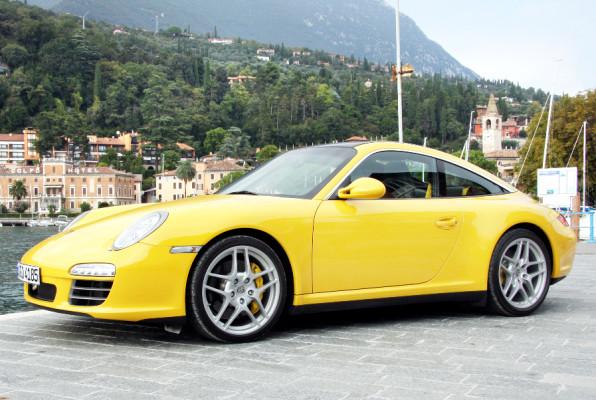 Vorstellung Porsche Targa: Oben fast ganz offen