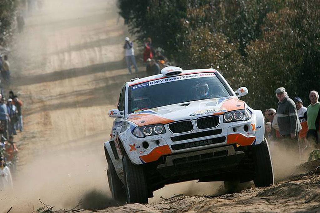 X-Raid BMW X3 CC - Vom SUV zum Rallye-Offroader