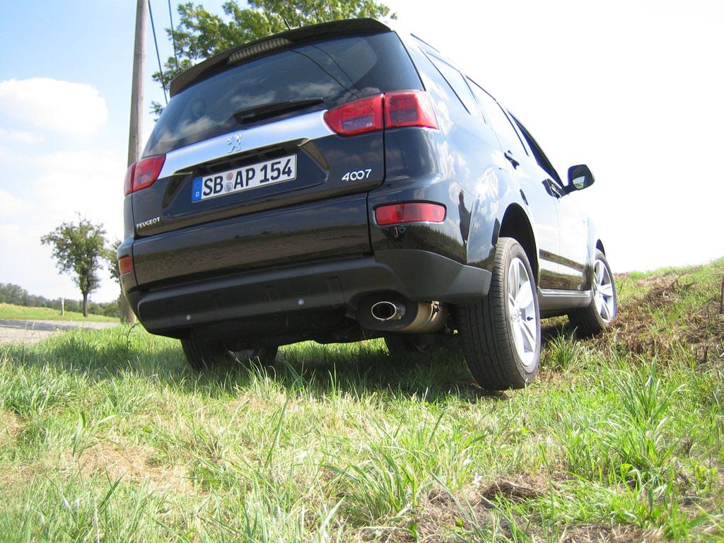 aa_Fahrbericht Peugeot 4007: Der Ritt auf dem Löwen