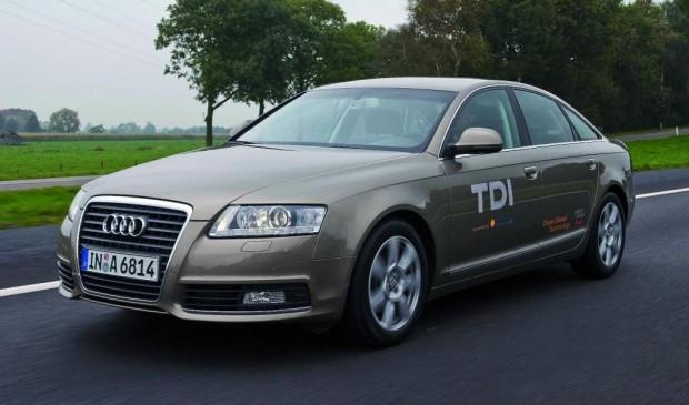 Al Gore im Audi A6 2.0 TDI e unterwegs