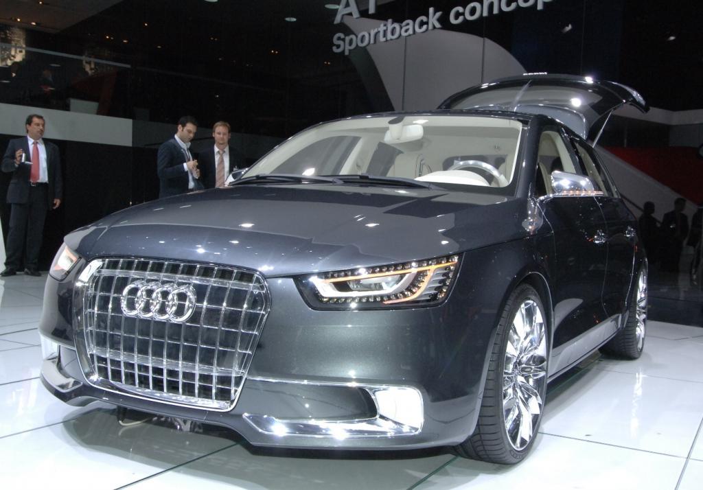 Audi A1 Sportback Concept mit Hybridantrieb