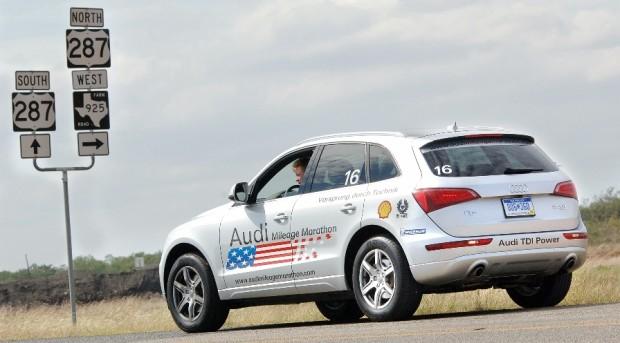 Audi Mileage Marathon erreicht Amerillo