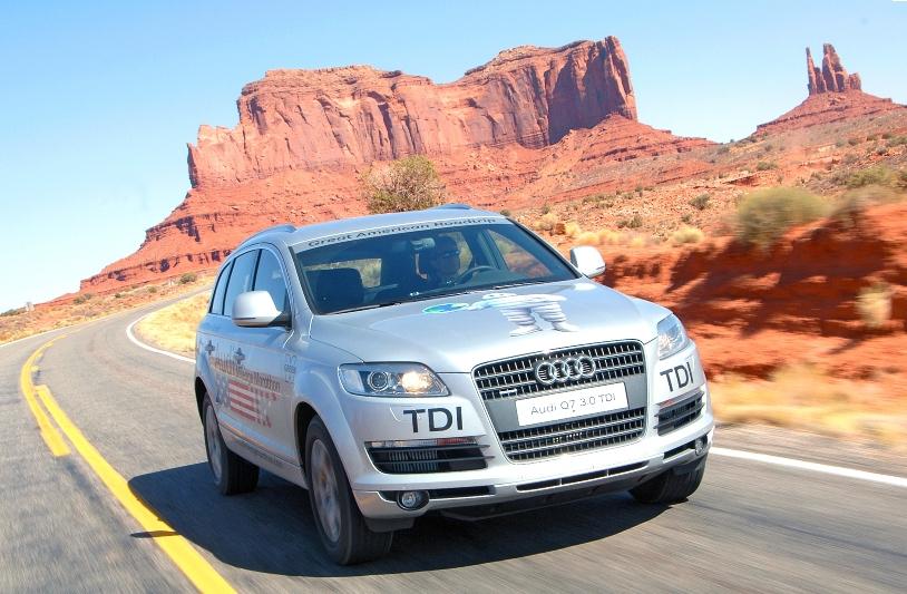 Audi Mileage Marathon erreicht Arizona