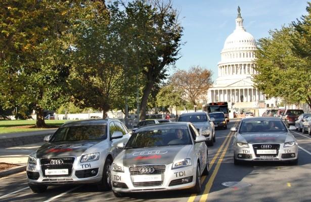 Audi Mileage Marathon erreicht Cleveland