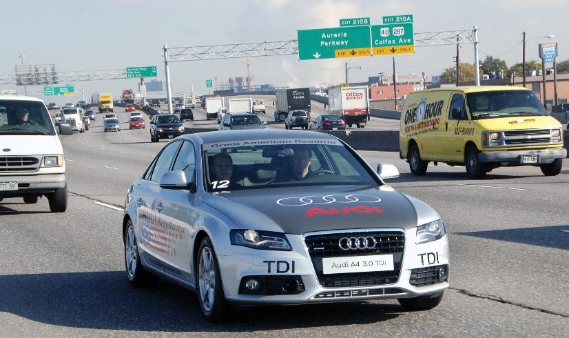 Audi Mileage Marathon führt durch Colorado