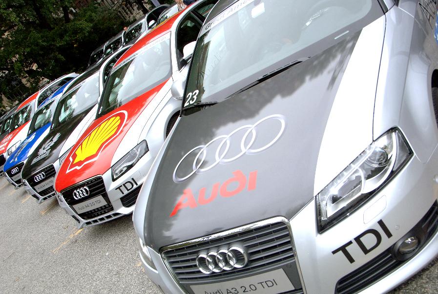 Audi Mileage Marathon führt durch die USA