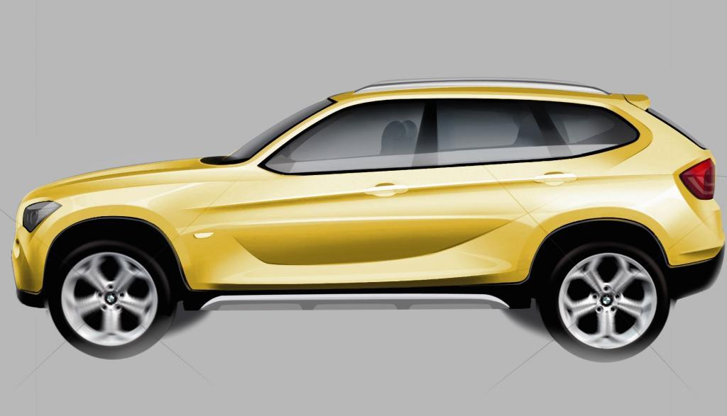 BMW präsentiert in Paris den X1 Concept