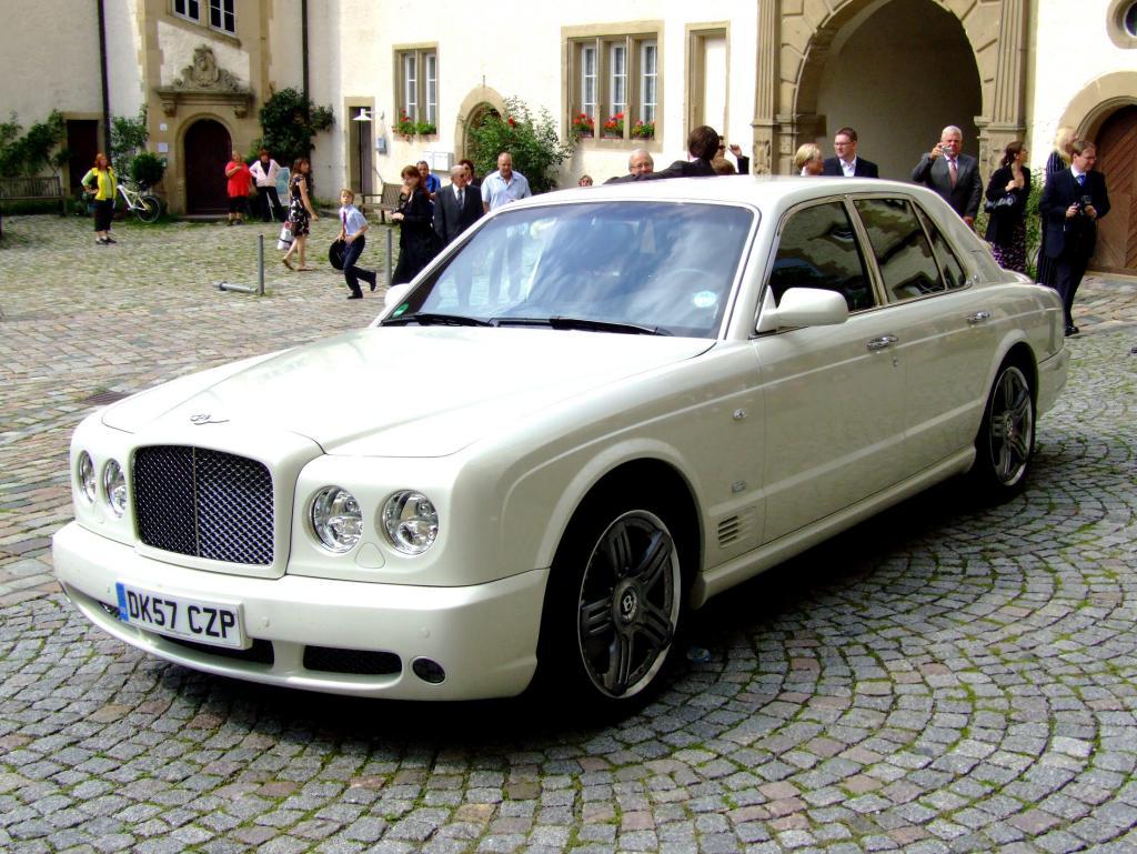 Bentley Arnage T - Wie der Lord zum Chauffeur wurde