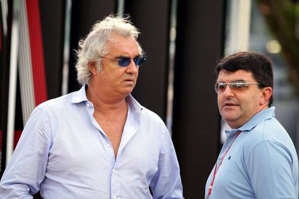 Briatore sieht Hamilton doch gereift: Manchmal reicht auf Platz fünf