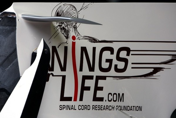Coulthards Abschiedslackierung: Wings for Life