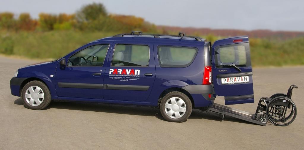 Dacia Logan MCV als Behindertenfahrzeug
