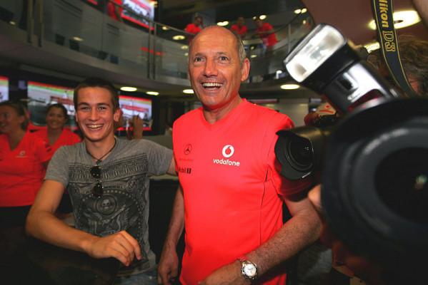 Dennis' Leidenschaft für sein Team: Ich blute McLaren