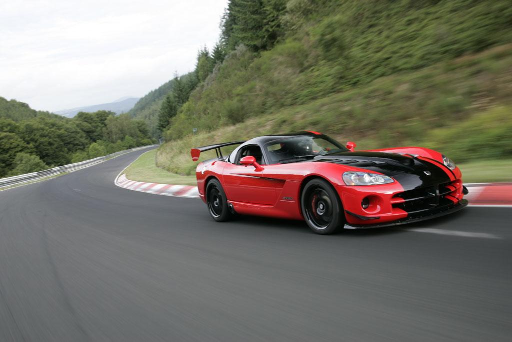 Dodge Viper SRT10 ACR - Rekordfahrt durch die grüne Hölle
