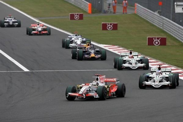 Doppeltes Pech für Force India: Endlich wieder gekämpft
