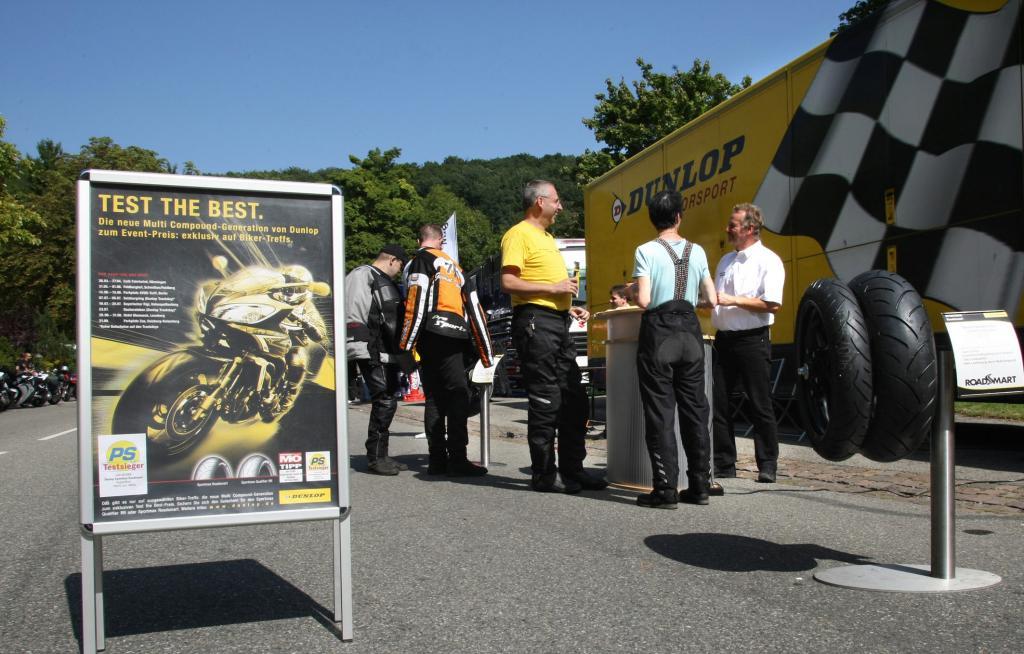 Dunlop setzt Motorradreifenaktion fort