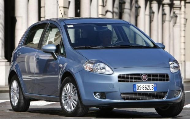 Erdgasantrieb für Fiat Grande Punto
