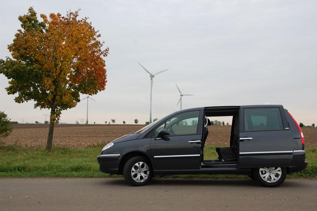 Fahrbericht Citroën C8: Reisen wie Gott in Frankreich