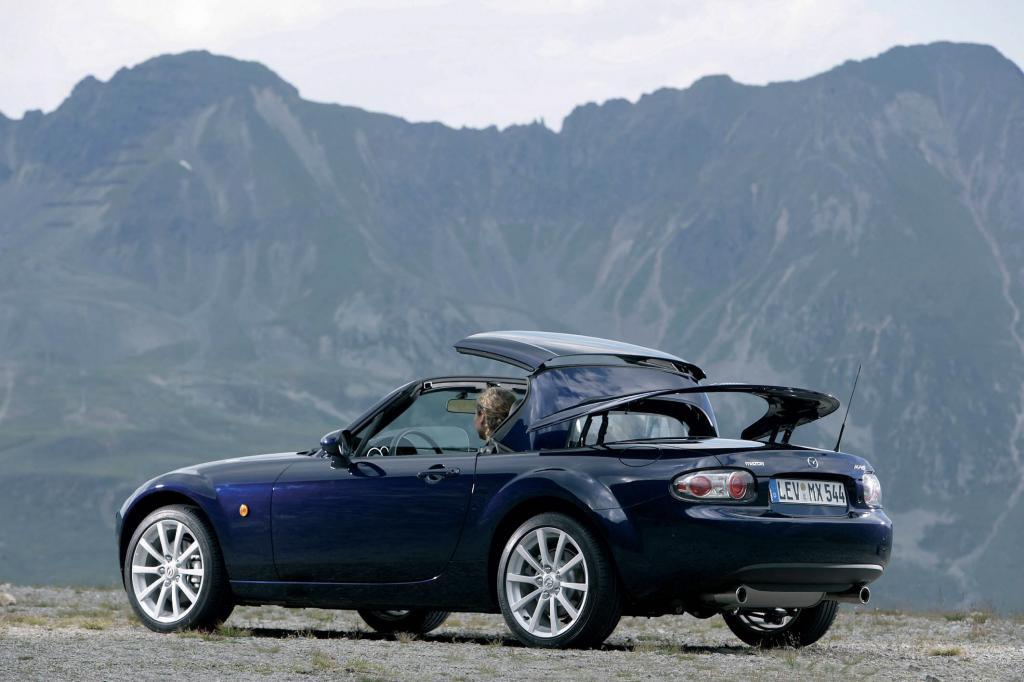 Fahrbericht Mazda MX-5 Roadster Coupé: Sportliches Cabrio für jedes Wetter Fahrbericht Mazda MX-5 Roadster Coupé: Sportliches Cabrio für jedes Wetter