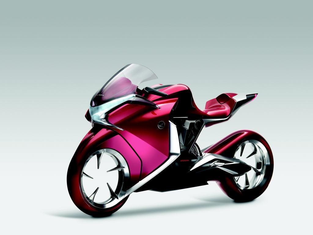 Futuristische Motorradstudie von Honda