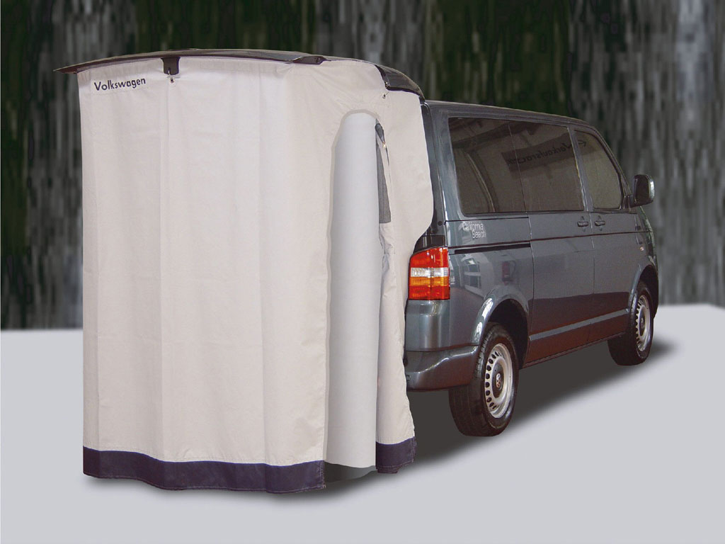 Heckklappenzelt für VW Transporter