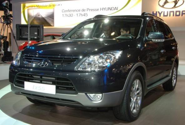 Hyundai iX55 erweitert Modellpalette