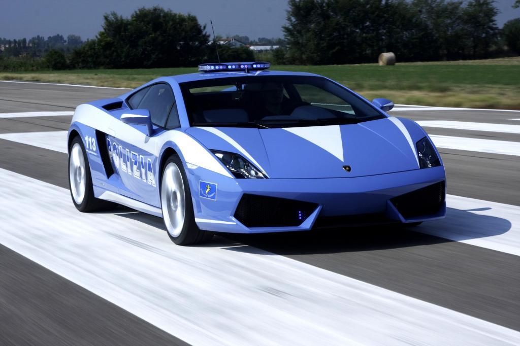 Italienische Polizei fährt Lamborghini - Dank Audis gut gefüllter Kassen