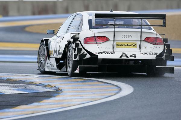 Kristensen auch im Warm-Up Schnellster: Audi dominiert im Regen