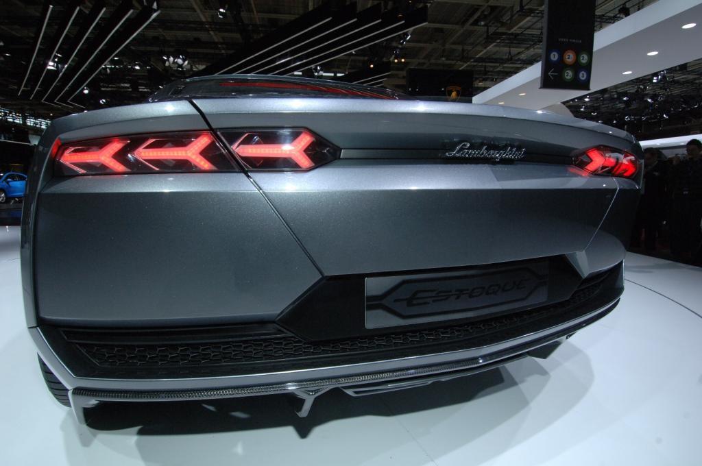 Lamborghini Estoque vorerst leider nur ein Showcar