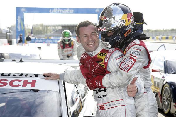 Le-Mans-König Tom Kristensen: Bewährtes Trio