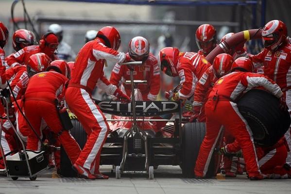 Massa und Räikkönen kamen nicht mit: Wir waren nicht schnell genug