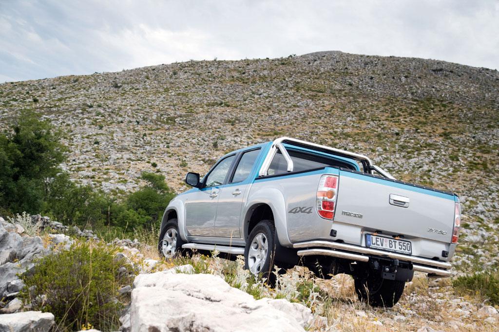 Mazda BT-50: Gesichtspflege für den Pick-up