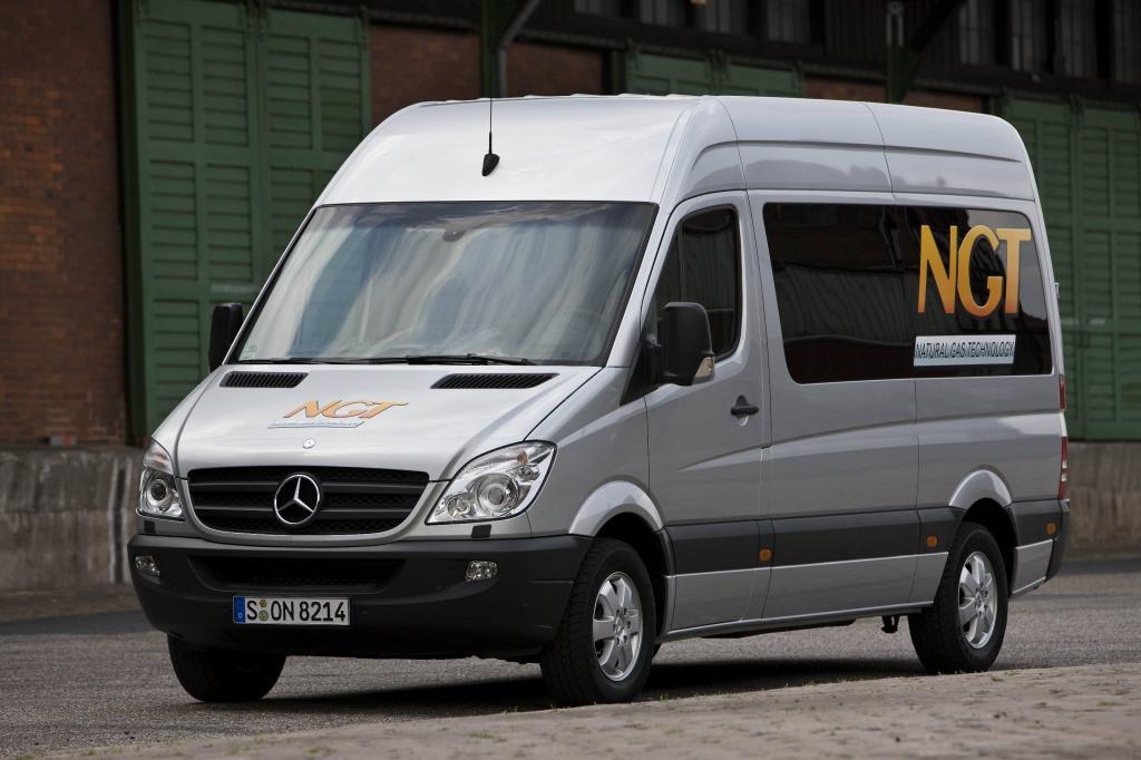 Mercedes-Benz Sprinter mit EEV-Zulassung