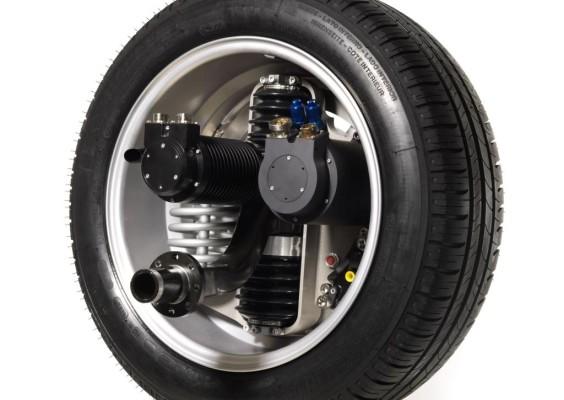 Michelin präsentiert Elektrofahrzeuge mit Radnabenantrieb