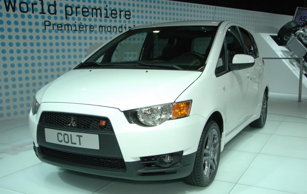 Mitsubishi überrascht mit neuem Colt