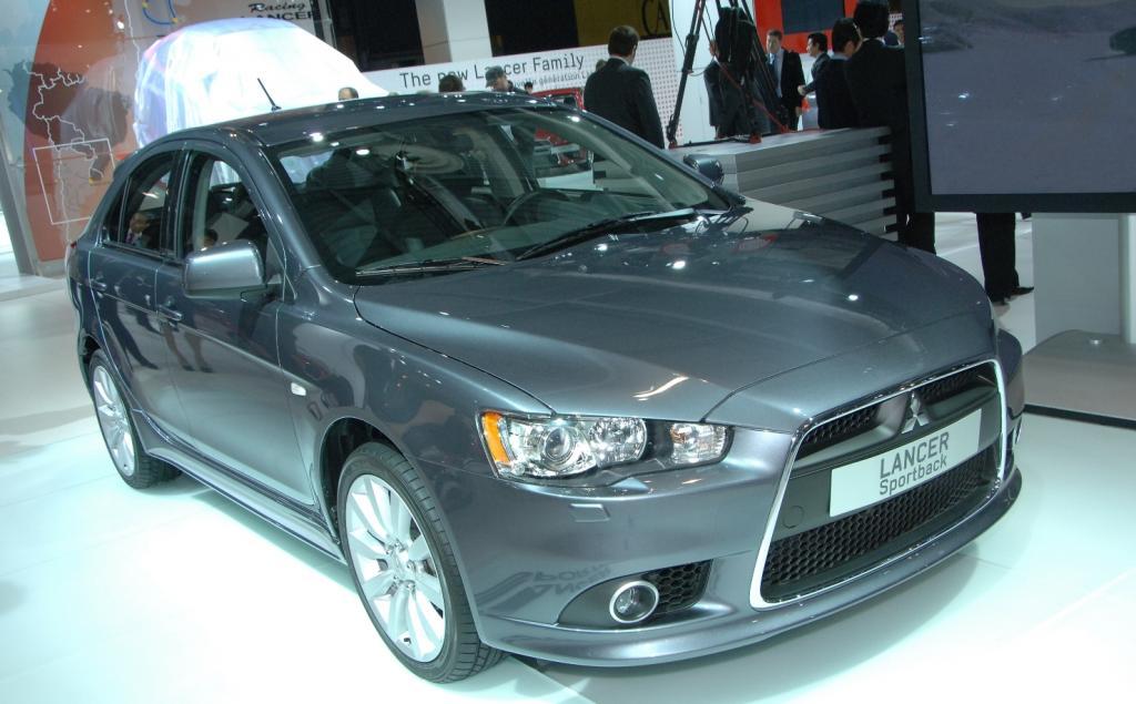 Mitsubishi überrascht mit neuem Lancer Sportback