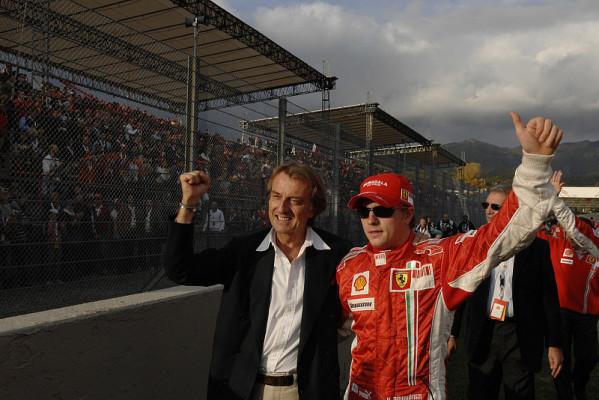 Montezemolos Erwartung an Räikkönen: Ich bin mir sicher, er hat verstanden