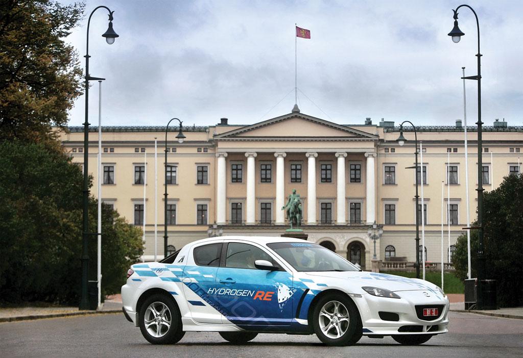 Norweger testen Wasserstoff-Wankelmotor